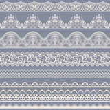 seamless lace border - 145816980