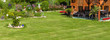 Gartenlandschaft - Bannerformat