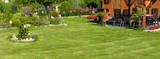 Gartenlandschaft - Bannerformat - 145818769