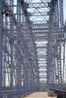 the deck of the Purple People Bridge in Cincinnati, Ohio