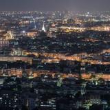 Aerial View of Bangkok, Thailand