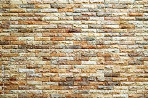 Fototapeta brick wall texture and background.