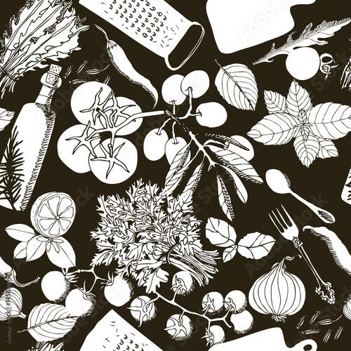 wegetarianska-zdrowa-zywnosc-ilustracja-rysunek-reka-jednolite-wzor