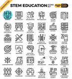 Fototapety STEM (science,technology,engineering,math) education
