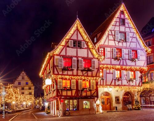 French city Colmar on...