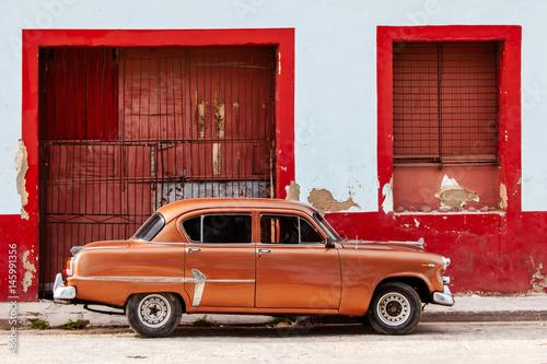 Zdjęcia Classic American Car in Cuba