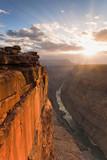 Sonnenaufgang am Toroweap Point am Grand Canyon in Arizona