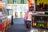 Blurry Casino Gambling Life