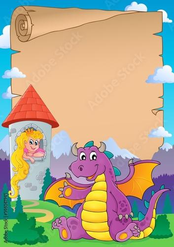 Poster Pony Fairy tale theme parchment 8