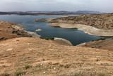 Water reservoir, hydroelectric power dam