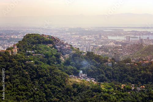 favelas of Rio Poster