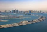 Dubai The Palm Jumeirah Palme Insel Marina Luftaufnahme Luftbild - 146243704