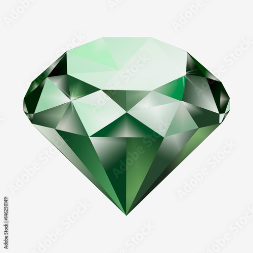 Tuinposter Edelsteen diamond isolated on the background. gem, jewel, precious stone, precious gem, , precious jewel
