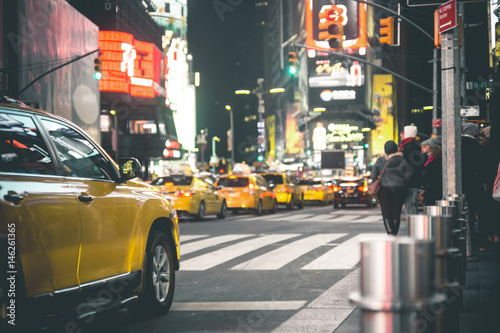 Times Square by Night - New York