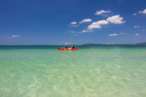 Po da Island in andaman sea ,Krabi, Thailand