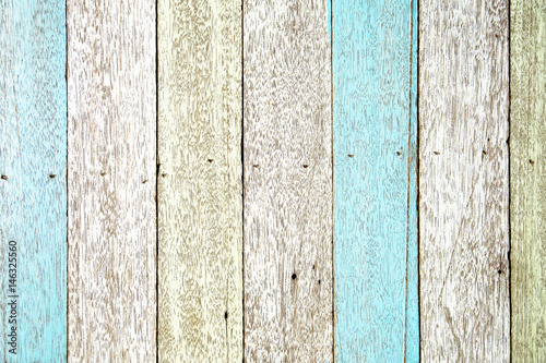 Naklejka na szybę Pastel wood planks texture background