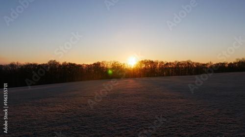 Papiers peints Morning Glory Sonnenaufgang