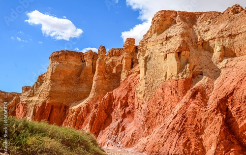 Papiers peints Brique red mountains of Algeria