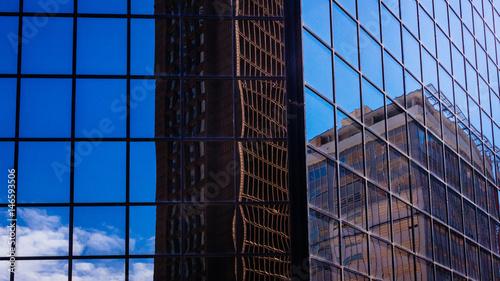 Building Window Reflection