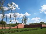 Zrekonstruowany bastion, Zamość, Polska