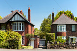 Typical english Houses - 146695913