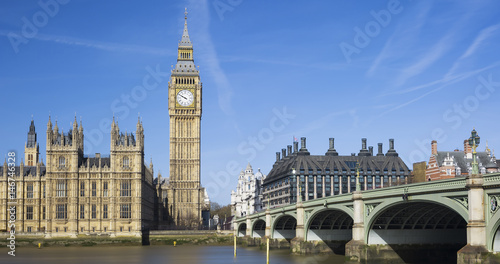 View of Big Ben and Houses of Parliament