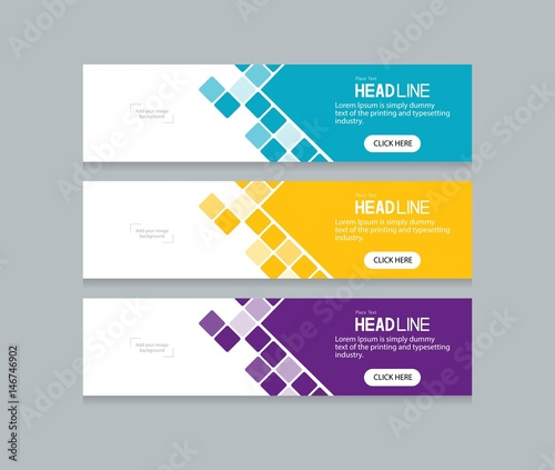 abstract web banner design template | Buy Photos | AP Images ...