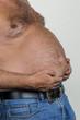 Mann mit Übergewicht - 146798965