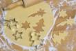 Leinwandbild Motiv Plätzchen für Weihnachten