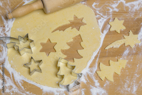 Leinwanddruck Bild Plätzchen für Weihnachten