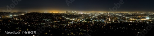 Los Angeles bei Nacht, Kalifornien, USA