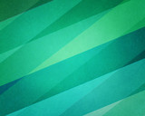 abstract geometric background in modern blue and green beach color hues with soft lighting and texture on striped block pattern
