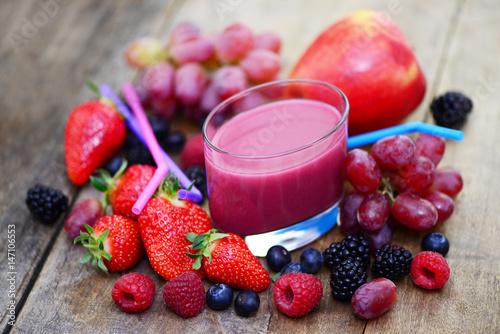 Früchte Saft Poster