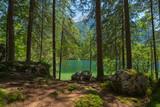Hintersee mit grünem Wasser