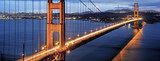 famous Golden Gate Bridge in San Francisco