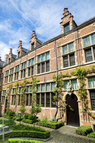 Fotobehang Antwerpen Belgium, Antwerp, Plantin-Moretus Museum