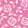 Seamless pattern with roses. Abstract floral background. Vector illustration. Wallpaper with cute flowers