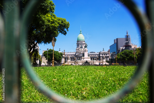 Papiers peints Buenos Aires Palace of the Argentine National Congress