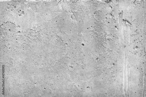 Poster Betonbehang cement wall background blank for design