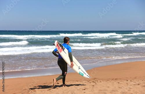 surf surfista tabla país vasco 8316-f17 Poster