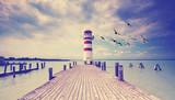 Steg zum Leuchtturm