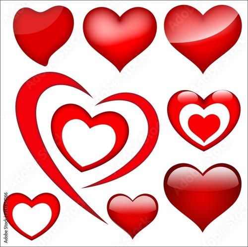 Hearts of love © JIgraphics