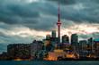 Toronto Skyline, Passing Storm
