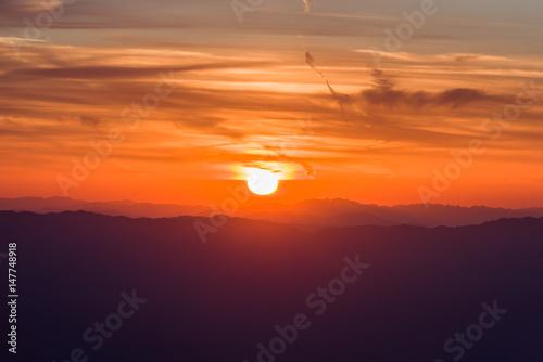 Sunrise atop San Jacinto Mountain-8 Poster