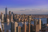 Downtown Jersey City and Manhattan - 148154584