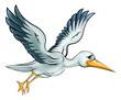 Stork Cartoon Bird - 148327559