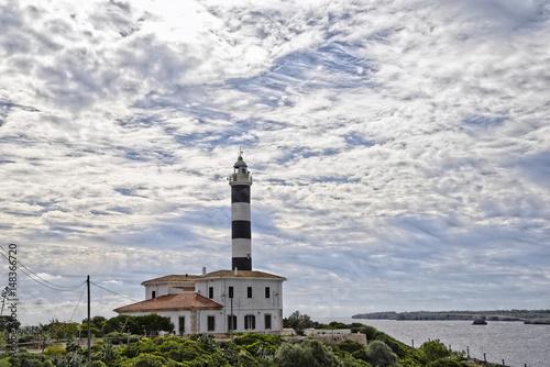 leuchtturm, turm, Portocolom, Mallorca, porto colom, spanien, balearen, hafensta