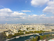 View of Paris from the Eiffel tower - 148478906