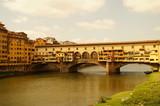 Ponte Vecchio in Florenz / Italien