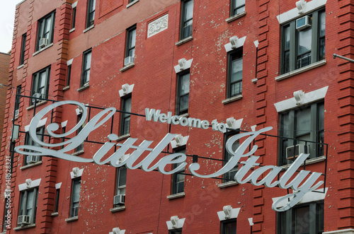 New York  little Italy Poster